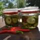 Inlagd gurka med chili